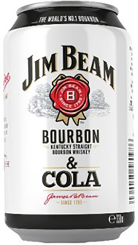 Jim Beam Cola (RTD 330ml)